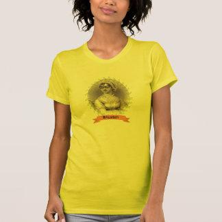 ヒップスターのジェーンAustenの代理 Tシャツ