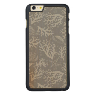 ヒップスターのスタイルの珊瑚礁 CarvedメープルiPhone 6 PLUS スリムケース