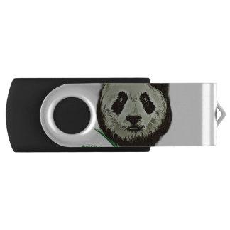 ヒップスターのパンダくま動物 USBフラッシュドライブ