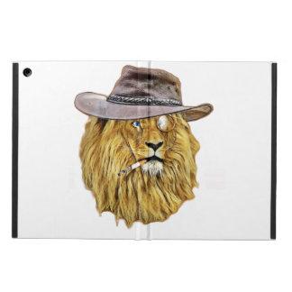 ヒップスターのライオン動物 iPad AIRケース