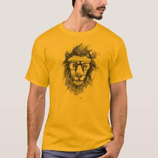 ヒップスターのライオン Tシャツ
