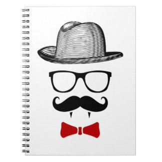ヒップスターの吸血鬼の紳士 ノートブック