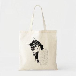 ヒップスターの子猫のトート トートバッグ