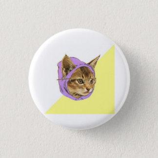 ヒップスターの子猫猫のアドバイス動物のミーム 缶バッジ