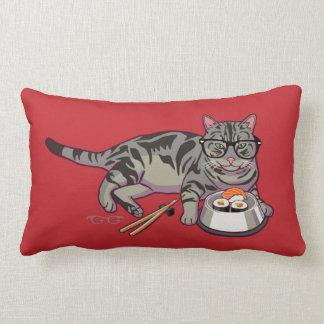 ヒップスターの子猫 ランバークッション