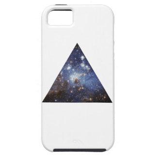 ヒップスターの宇宙の三角形 iPhone SE/5/5s ケース