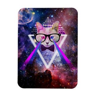 ヒップスターの銀河系猫 マグネット