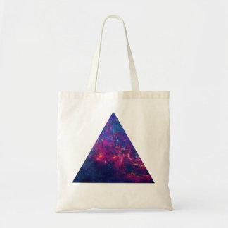 ヒップスターの銀河系/宇宙の三角形 トートバッグ