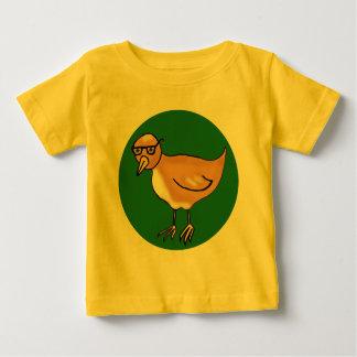 ヒップスターの鳥 ベビーTシャツ