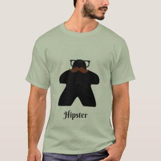 ヒップスターのmeeple tシャツ
