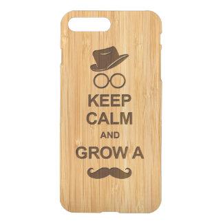 ヒップスターは平静を保ち、髭のタケ一見を育てます iPhone 8 PLUS/7 PLUS ケース