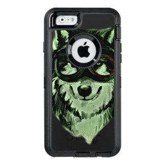 ヒップスター犬のスタイル オッターボックスディフェンダーiPhoneケース