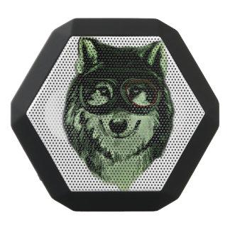 ヒップスター犬のスタイル ブラックBluetoothスピーカー