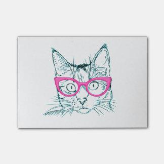 ヒップスター猫 ポストイット