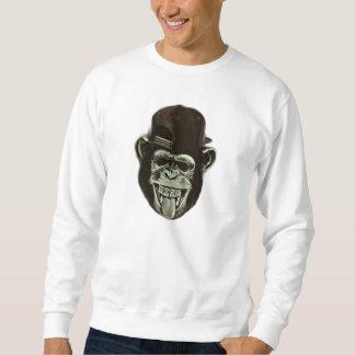 ヒップスター猿 スウェットシャツ