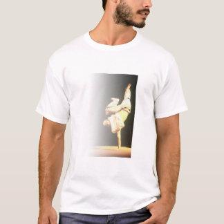 ヒップホップのグラフまたは破損のワイシャツ Tシャツ