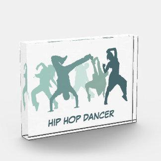ヒップホップのダンサーの絵 表彰盾
