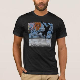 ヒップホップのダンサーのTシャツ Tシャツ