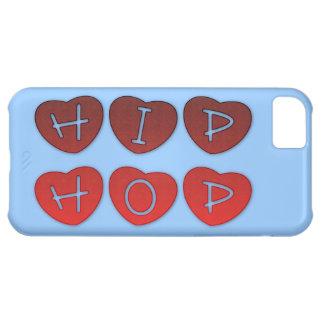 ヒップホップのハートのiPhone 5の場合 iPhone5Cケース