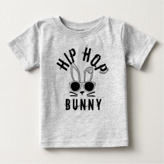 ヒップホップのバニーの春のイースターベビーの幼児の上のワイシャツ ベビーTシャツ