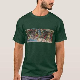 ヒップホップの壁画 Tシャツ