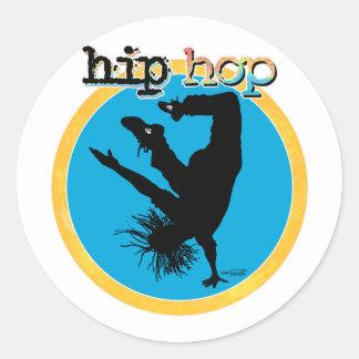 ヒップホップの壊れ目のダンサー ラウンドシール