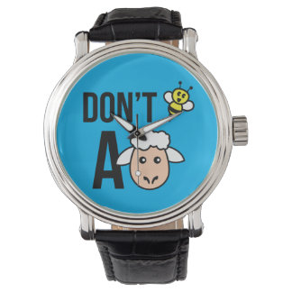 ヒツジがあないで下さい 腕時計