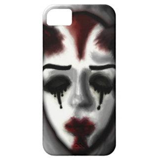 ヒツジのグラフィック無しによる道化師のマスクの電話箱 iPhone SE/5/5s ケース