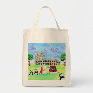 ヒツジのゴードンブルースの芸術から成っているcolosseum トートバッグ
