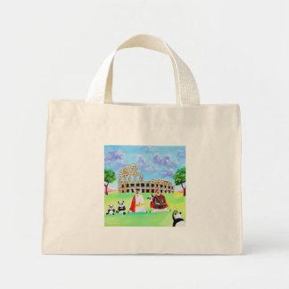 ヒツジのゴードンブルースの芸術から成っているcolosseum ミニトートバッグ