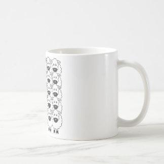ヒツジのベルギー人Tervuren コーヒーマグカップ