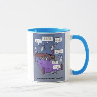 ヒツジのマグのカウント マグカップ