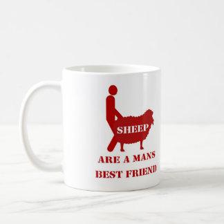 ヒツジのマグ コーヒーマグカップ