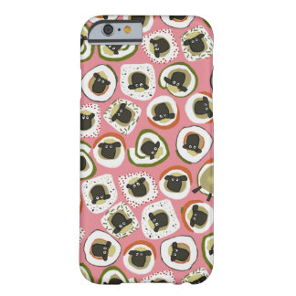 ヒツジの寿司のピンク BARELY THERE iPhone 6 ケース
