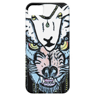 ヒツジの皮の入れ墨のデザインのオオカミ iPhone SE/5/5s ケース