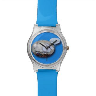 ヒツジ年のかわいい旧正月の誕生日の(占星術の)十二宮図W 腕時計