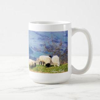 ヒツジ コーヒーマグカップ