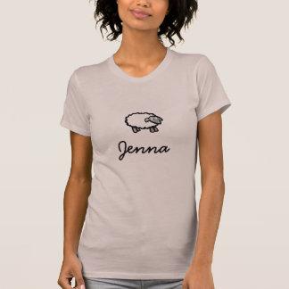 ヒツジ、Jenna Tシャツ