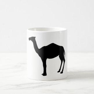 ヒトコブラクダのシルエット コーヒーマグカップ