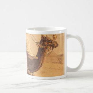 ヒトコブラクダの乗車 コーヒーマグカップ