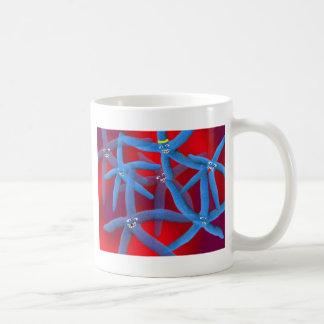 ヒトデのディスコ コーヒーマグカップ