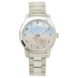 ヒトデのビーチ 腕時計