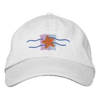 ヒトデのロゴ 刺繍入りキャップ