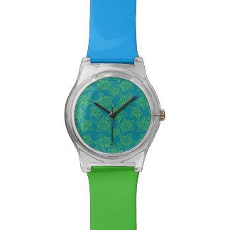 ヒトデの群集パターン 腕時計