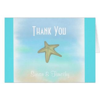 ヒトデ|貝殻|結婚|感謝していして下さい||カード グリーティングカード