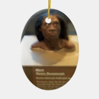 ヒト属のfloresiensis; 博物館の展示物 セラミックオーナメント
