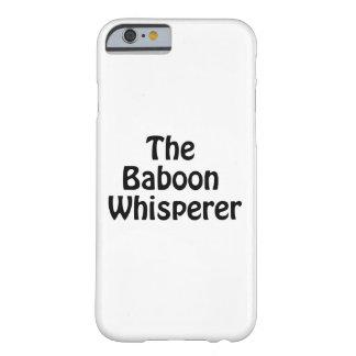ヒヒの囁くもの BARELY THERE iPhone 6 ケース