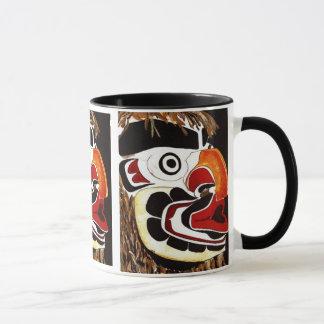 ヒマラヤスギのマスク マグカップ