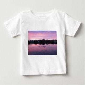 ヒマラヤスギの主フロリダの日没 ベビーTシャツ