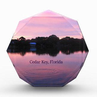 ヒマラヤスギの主フロリダの日没 表彰盾